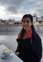 A photo of Anjali, a tutor from Dual Degree Sciences Po - University of British Columbia