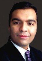 A photo of Shoaib, a tutor from Universiti Malaya