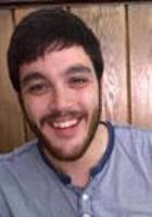 A photo of Joseph, a tutor from St. Bonaventure University
