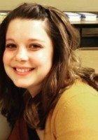 A photo of Jillian, a tutor from UW Stevens Point