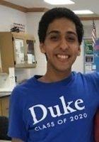 A photo of Nima, a tutor from Duke University