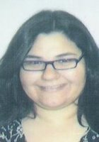 A photo of Maria, a tutor from CUNY John Jay College of Criminal Justice