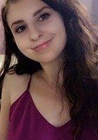 A photo of Emma, a tutor from Johns Hopkins University