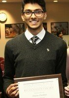 A photo of Srini, a tutor from Brown University