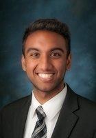 A photo of Rushi, a tutor from Northwestern University