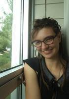 A photo of Sirah, a tutor from University of Wisconsin-Green Bay