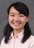 A photo of Yun-Chin, a tutor from National Taiwan University