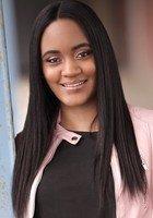 A photo of Juanita, a tutor from Virginia Commonwealth University
