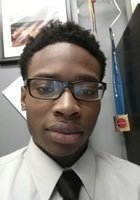 A photo of Nnamdi, a tutor from St. Peter's College