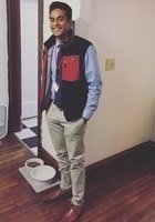 A photo of Raheem, a tutor from Dickinson College