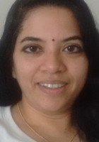 A photo of Sindhu, a tutor from University of Kerala India