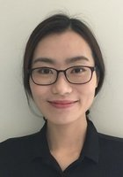 A photo of Jingjing, a tutor from Zhejiang Gongshang University