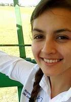 A photo of Sanaa, a tutor from Ohio Wesleyan University