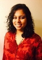A photo of Anjum, a tutor from Washington University in St Louis