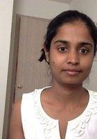 A photo of Mayuri, a tutor from University of Peradeniya Sri Lanka