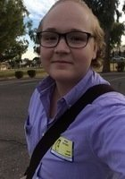 A photo of Emily, a tutor from Northern Arizona University