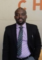 A photo of Kofi, a tutor from kwame nkrumah university of science and technology