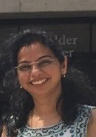 A photo of Anu, a tutor from Govt College of Pharmacy