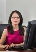 A photo of Grace, a tutor from Beijing University of Aeronautics and Astronautics