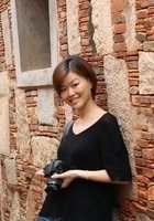 A photo of Siqi, a tutor from Beijing Normal University Zhuhai Campus