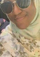 A photo of Amatullah, a tutor from Seton Hall University