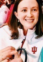 A photo of Kaley, a tutor from Indiana University