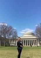A photo of Yuesheng, a tutor from Wuhan University