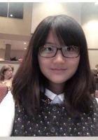 A photo of Yizhu, a tutor from Indiana University