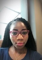 A photo of Celestine, a tutor from University of Ghana