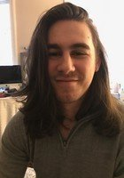 A photo of Kyle, a tutor from CUNY Baccalaureate Program