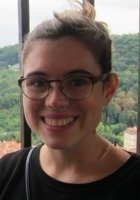 A photo of Nora, a tutor from Oberlin College