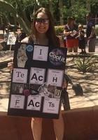 A photo of Megan, a tutor from Arizona State University