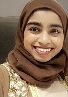 A photo of Rafia, a tutor from University of Illinois at Chicago