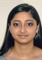 A photo of Dhwani, a tutor from Loyola University-Chicago