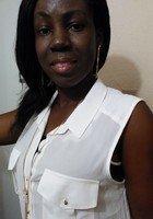 A photo of Joyce, a tutor from University of Ghana