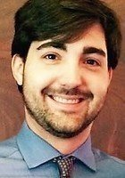 A photo of Caleb, a tutor from Guilford College