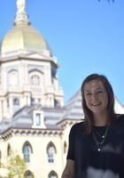 A photo of Allison, a tutor from University of Notre Dame