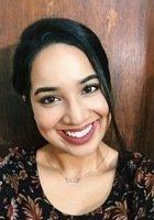 A photo of Amena, a tutor from CUNY Brooklyn College