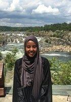 A photo of Samira, a tutor from University of Mary Washington