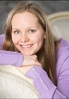 A photo of Clare, a tutor from Swarthmore College