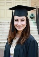 A photo of Dina, a tutor from College of William and Mary