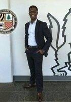 A photo of Stephon, a tutor from Loyola University Maryland