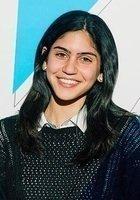 A photo of Maya, a tutor from Cornell University