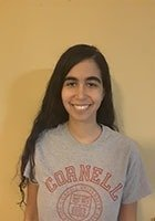 A photo of Katrina, a tutor from Cornell University