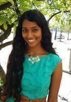A photo of Kavya, a tutor from Wayne State University