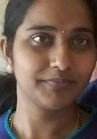 A photo of Vasantha, a tutor from Andhra university
