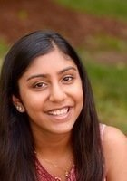 A photo of Varsha, a tutor from Georgetown University