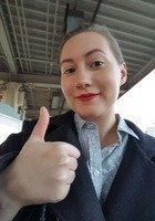 A photo of Caitlin, a tutor from Loyola University-Chicago