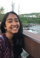 A photo of Varsha, a tutor from Middlebury College