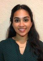 A photo of Veena, a tutor from University of Miami
